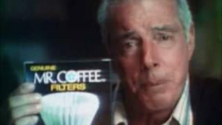 Joe Dimaggio for Mr Coffee commercial