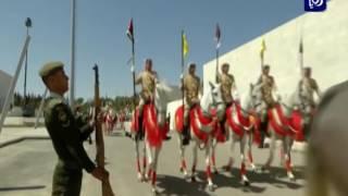 م. سعد هايل السرور وعبدالله الخوالدة - القمة الأردنية السعودية