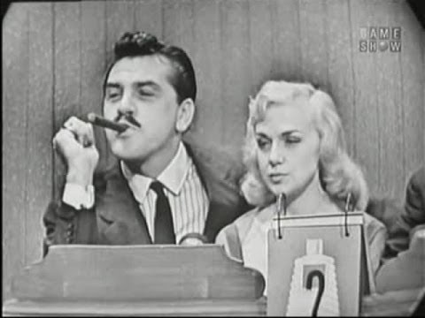 What's My Line? - Ernie Kovacs & Edie Adams; Tony Randall [panel] (Sep 9, 1956)