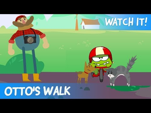 Om Nom recommends to watch - Otto's walk # 2 (Cartoons for Children)