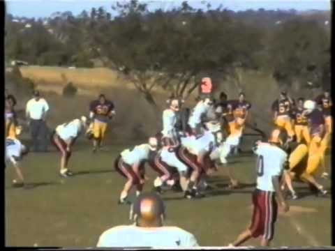 Qld Gridiron Football League Cougars v Chargers 1997