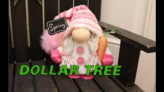 Dollar Tree Spring Gnome