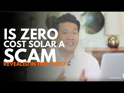Zero cost solar is a SCAM...or is it?