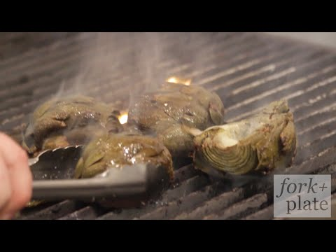 How to cook artichokes on a traeger grill