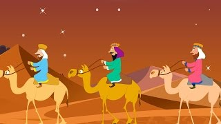 We Three Kings Of Orient Are - With Lyrics - Christmas Carols