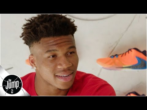 Giannis doesn't want to relax after winning MVP, admits he owns 4,000 pairs of shoes   The Jump