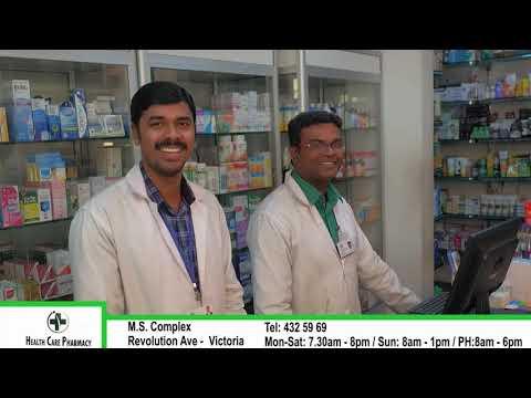 HEALTH CARE PHARMACY - VICTORIA - MAHE- SEYCHELLES