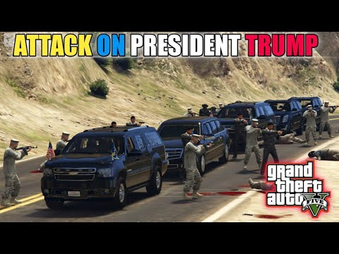 Download GTA 5   Attack on President Trump   Security in Action   Game Loverz