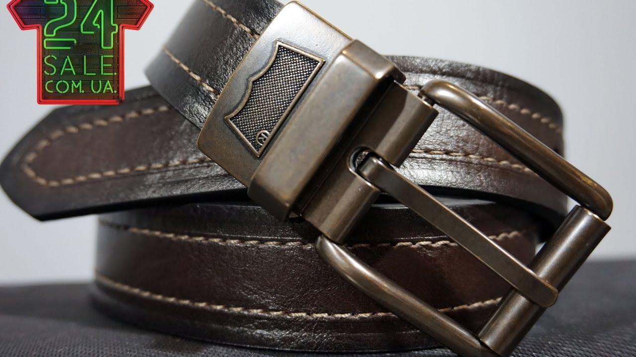 Unboxing original belt Levi's Reversible Double Stitch, Black/Brown 11LV02TF