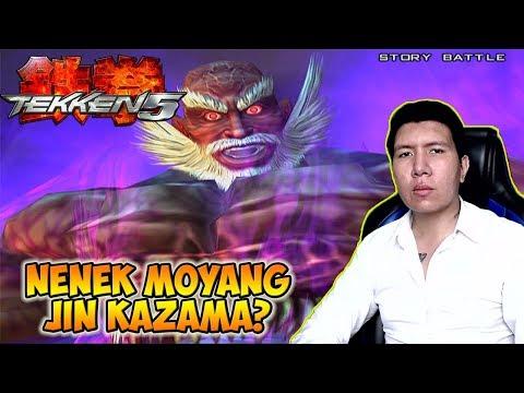Melawan Jinpachi, Boss Terakhir - Tekken 5