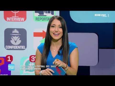 Sonia Carneiro sur RMC Sports 1 dans Breaking Sports 15052019