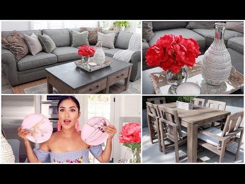 Summer Home Decor Haul + New Furniture Update