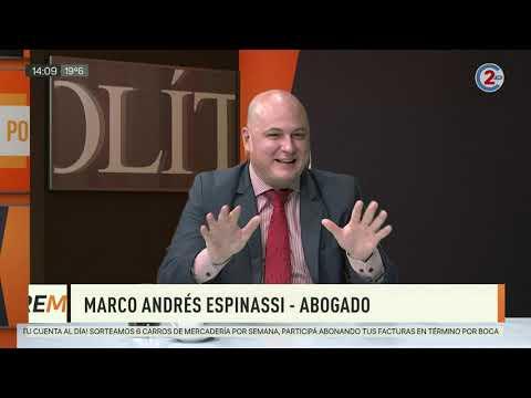 Sobremesa: Marcos Andrés Espinassi
