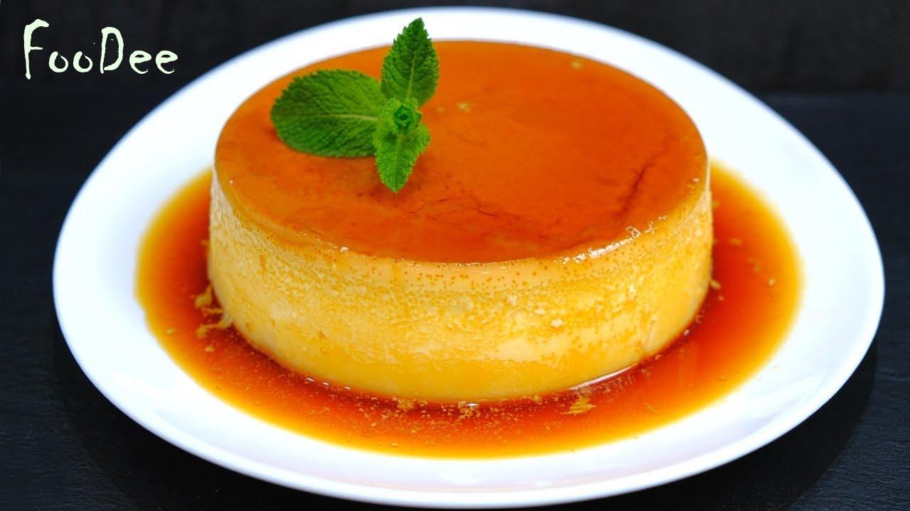 Крем-карамель - ЧУДО десерт из молока и яиц! Флан - испанский десерт из простых ингредиентов