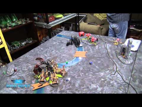 TBMC - Age of Sigmar Video Battle Report (Batrep) - Tomb Kings vs High Elves