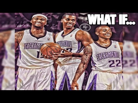 WHAT IF DEMARCUS COUSINS, ISAIAH THOMAS, AND HASSAN WHITESIDE WERE STILL TEAMMATES?