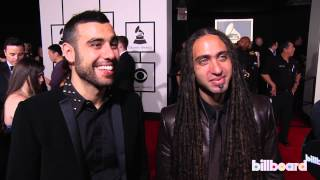 Sultan & Ned Shepard on the GRAMMYs Red Carpet 2014