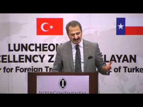 TTACC Luncheon - Zafer Caglayan Minister for Foreign Trade the Republic of Turkey 4/8