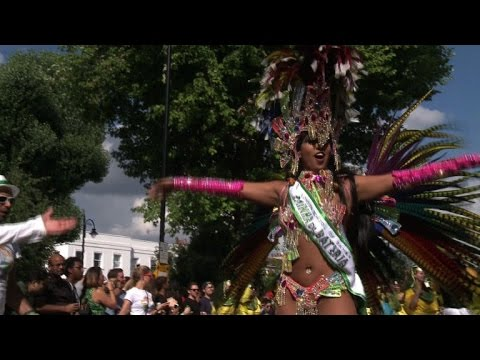 London's famous Notting Hill Carnival turns 50