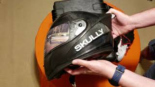 Skully Fenix AR helmet unboxing. #SKULLYNATION, #TWOWHEELS Skully