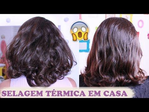 COMO ALISAR O CABELO EM CASA | SELAGEM TÉRMICA SALONE - Por Jéssica Freitas