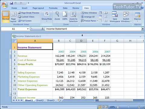 Use Multiple Windows In Excel 2007