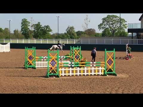 Dallas Burston 2018 Lady Larino winning 1.05