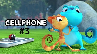 Cam & Leon | Cell Phone #3 | Cartoon for Kids | Funny Cartoon