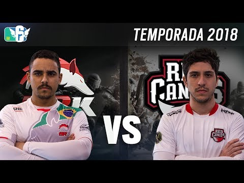 [BR6] BRK E-SPORTS vs RED CANIDS (Temporada 2018) - Rainbow Six Siege