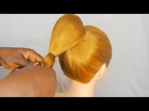 Simple Bun Hairstyle for Long Hair : Quick and Easy Hairstyle Tutorial | Bun Hairstyles 2020