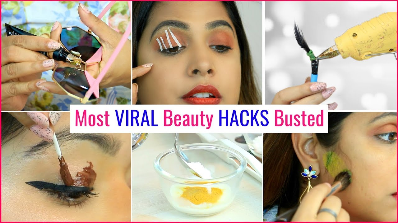 Most VIRAL Beauty HACKS Busted   #Myths #Makeup #Anaysa  #ShrutiArjunAnand
