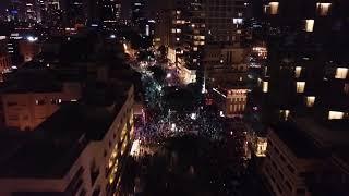 הפגנה נגד שחיתות ברחוב רוטשילד בתל אביב, 16.12.17