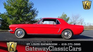 #7528 1965 Ford Mustang - Gateway Classic Cars of St. Louis