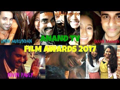 Vlog || Anand Tv Film Awards 2017 // Nivin...