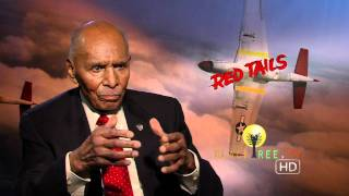 Real life Tuskegee Airman talks Red Tails...