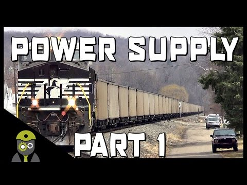 Train Simulator 2017 - Norfolk Southern Coal District - Power Supply - ES44AC - Part 1/2