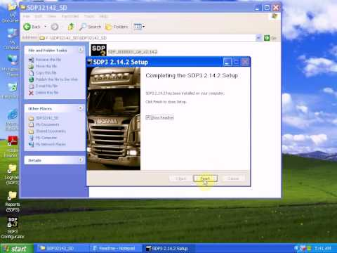 How to setup softwarre and driver for Scania VCI 2 V2.14 Truck Diagnostic tool