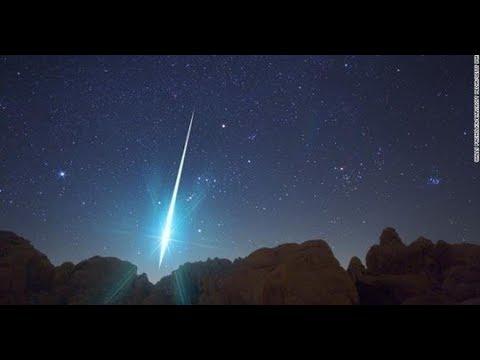 Um meteoro explodiu na atmosfera da Terra com 10 vezes a energia da bomba atômica de Hiroshima