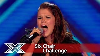 Saara Aalto fights for her Chair with I See Fire  | Six Chair Challenge | The X Factor UK 2016
