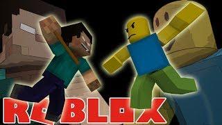 Monster School VS ROBLOX part 2 Minecraft Animation