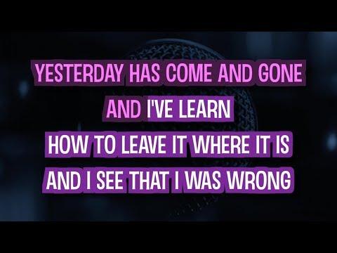 Today My Life Begins | Karaoke Version in the style of Bruno Mars
