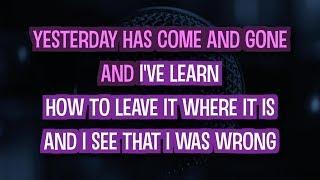 Today My Life Begins (Karaoke Version) - Bruno Mars | TracksPlanet