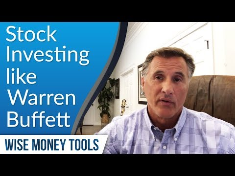 Stock Investing like Warren Buffett - Value Investing Warren