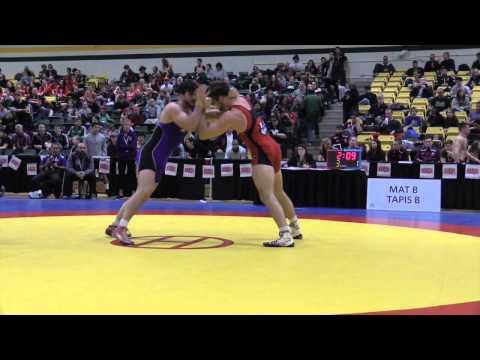 2015 CIS Championships: 90 kg Final Finn Higgins vs. Riley Otto