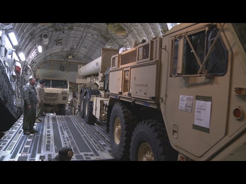 Controversy in South Korea over US missile defence system