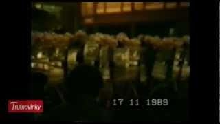 PRAHA - 17. LISTOPAD 1989