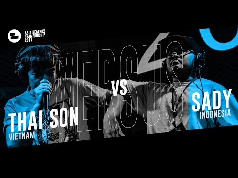 Thai Son (VN) vs SADY (IN)|Asia Beatbox Championship 2017  FINAL Loopstation Beatbox Battle