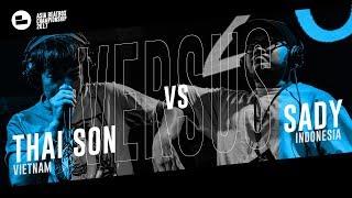 Thai Son (VN) vs SADY (IN)|Asia Beatbox Championship 2017  FINAL Loopstation Beatbox Battle