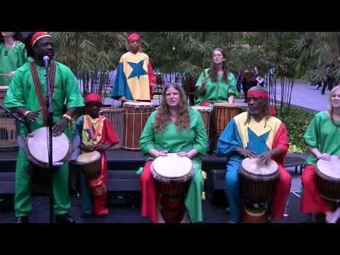 TamTam Magic West African Samba drumming