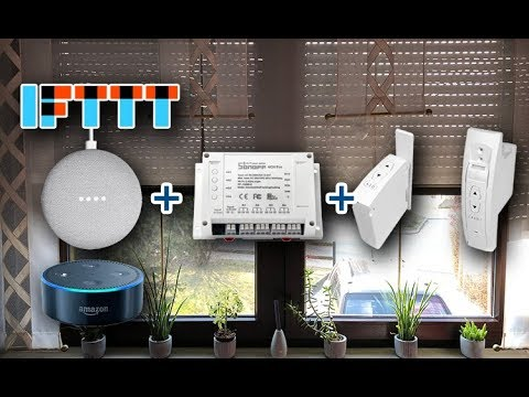 SmartHome Shutters Voice Control - Pushsafer - send push
